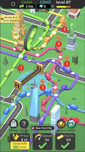 Subway Idle 3D 2.8 screenshots 5