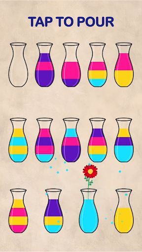 Sand Sort Puzzle - Color Sorting Game 2.1.2 screenshots 2