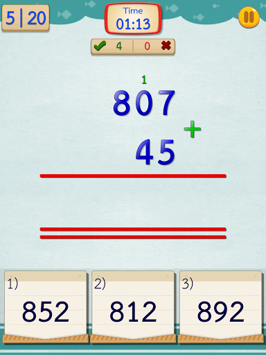 Math Fast Plus and Minus 2.3.1 screenshots 17