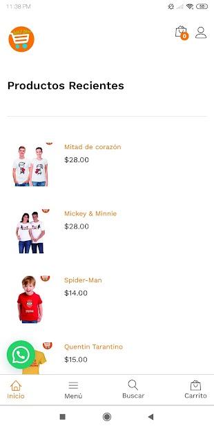 W&J Store Tienda Online screenshot 2