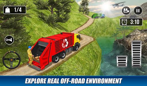 Offroad Garbage Truck: Dump Truck Driving Games 1.1.6 screenshots 7
