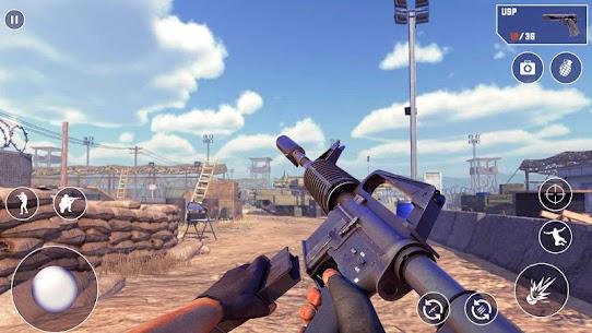 FPS Encounter Secret Mission Mod Apk (God Mode/Dumb Enemy) 4