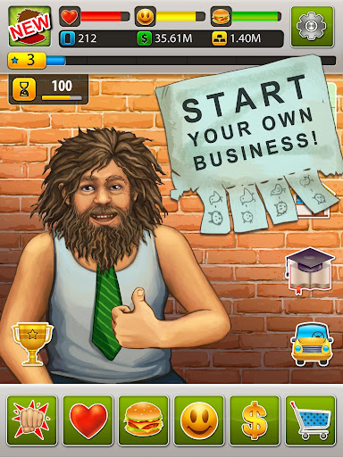 Hobo World - life simulator Apkfinish screenshots 7