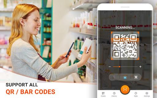 QR Code Reader - Barcode Scanner, QR Scanner Free 1.2.0 screenshots 1