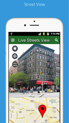 street view live, gps maps navigation & earth maps screenshot 3
