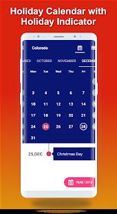 USA Holiday 2020 Calendar - Govt Public Holidays