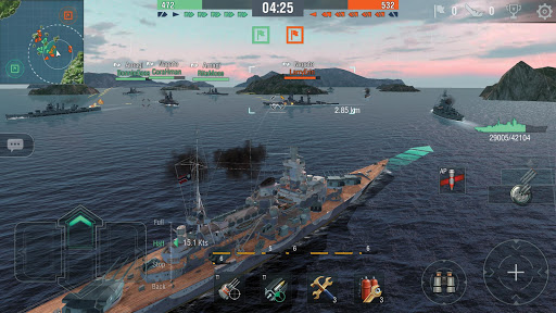 World of Warships Blitz: Gunship Action War Game 4.0.1 Screenshots 18