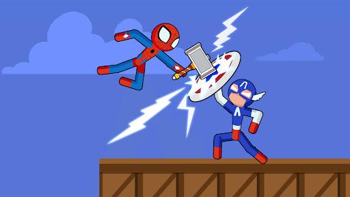 Spider Stickman Fighting - Supreme Warriors  screenshots 1