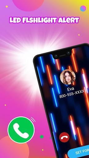 Call Screen Themes, Color Call Flash - Blingcall android2mod screenshots 5