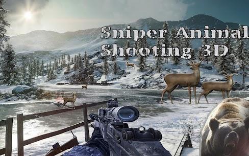 Sniper Animal Shooting 3D:Wild Animal Hunting Game 3