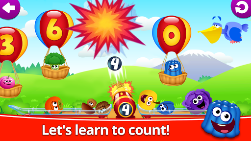 Funny Food 123! Kids Number Games for Toddlers  screenshots 2