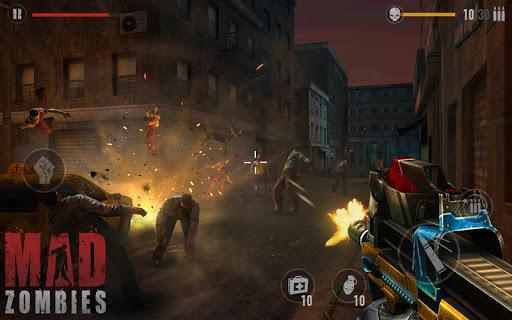 Télécharger MAD ZOMBIES : Jeux de Zombie  APK MOD (Astuce)