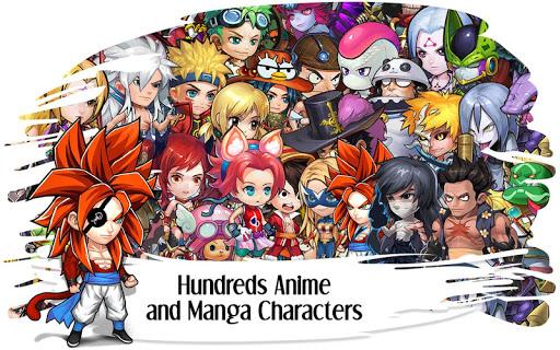 Manga Clash - Warrior Arena apkpoly screenshots 8