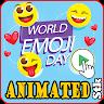 Moving Stickers - emoji for WhatsApp app apk icon