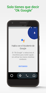 Android Auto: Google Maps, multimedia y mensajería Screenshot