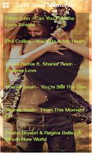 Love Songs Golden memories screenshot thumbnail