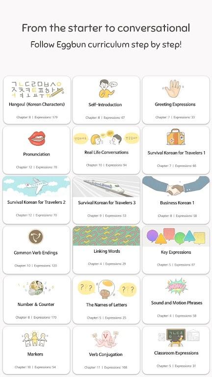 Eggbun: Learn Korean Fun  poster 1