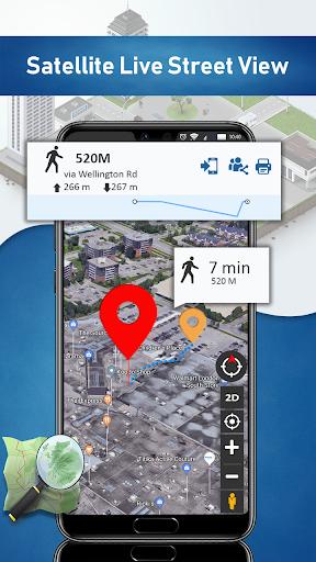 Street View Map HD: Satellite View & Earth Map 1.16 Screenshots 4