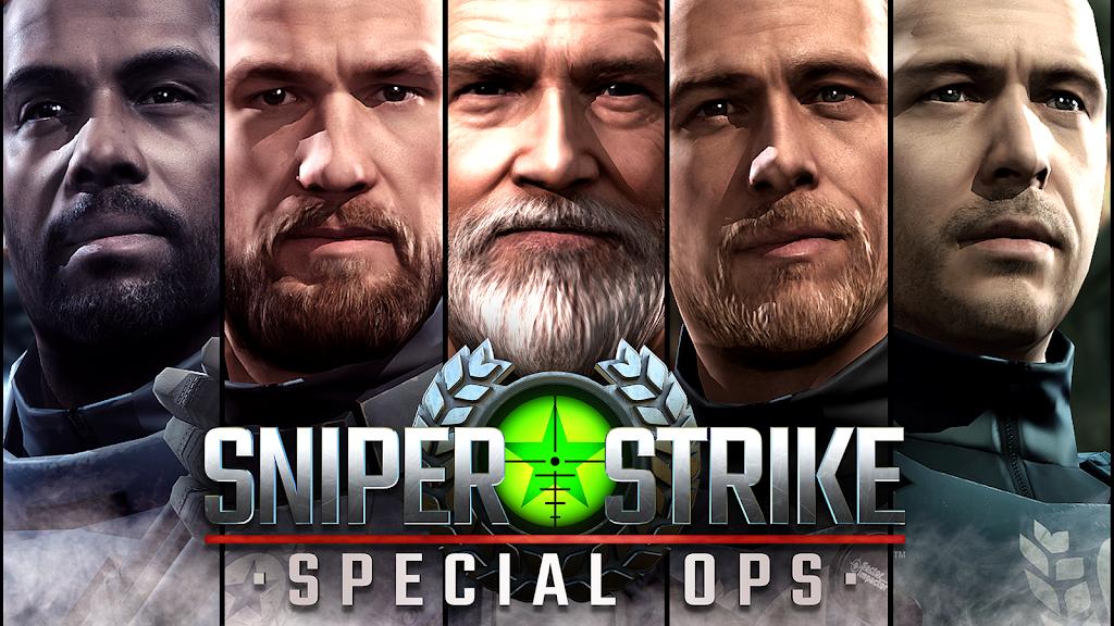 Sniper Strike APK Mod poster 14