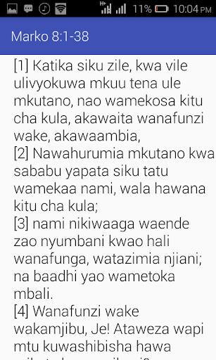 Biblia Takatifu android2mod screenshots 1