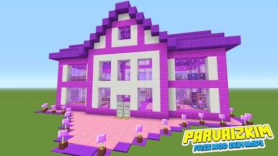 Addon Barbie – Mod Barbie Pink Skin MCPE Apk Download NEW 2021 1