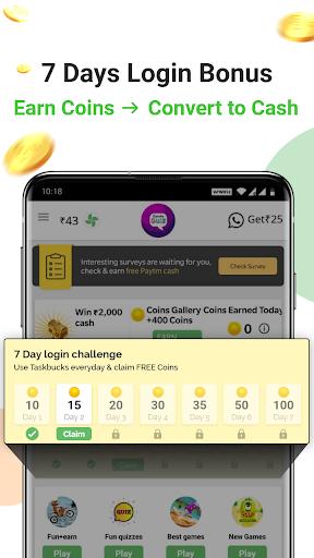 Earn Wallet cash, Free mobile Recharge & coins apktram screenshots 3