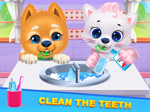 Kitty & Puppy Best Friends Pet Vet Care  screenshots 11
