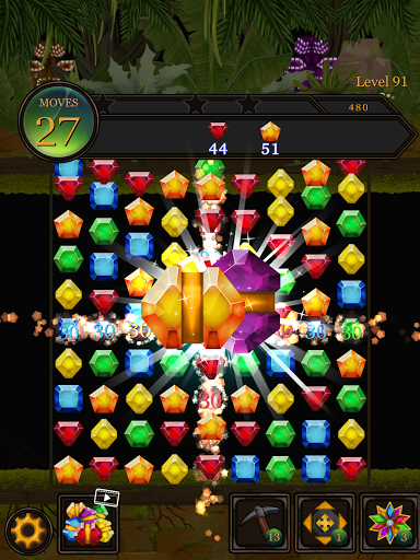 Secret Jungle Pop : Match 3 Jewels Puzzle Apkfinish screenshots 18