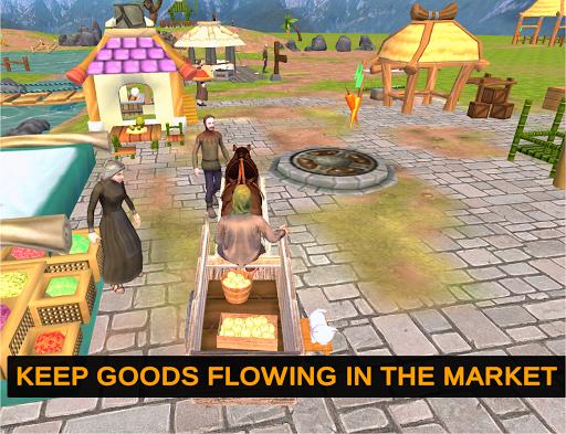 Horse Cart Offroad Farming Transport Simulator 1.2 screenshots 10