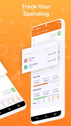 Monthly Budget Planner & Daily Expense Tracker apktram screenshots 2
