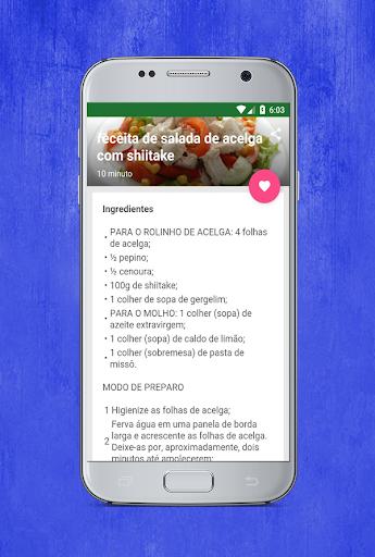 Foto do receitas de saladas
