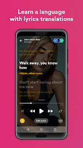 Musixmatch MOD (Premium Unlocked) APK for Android 3