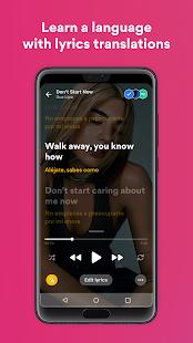Musixmatch - Lyrics for your music 7.8.3 Screenshots 3