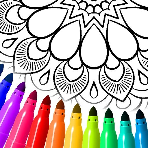 Mandala farging sider
