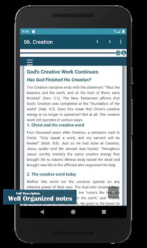 SDA Fundamental Beliefs  screenshots 3