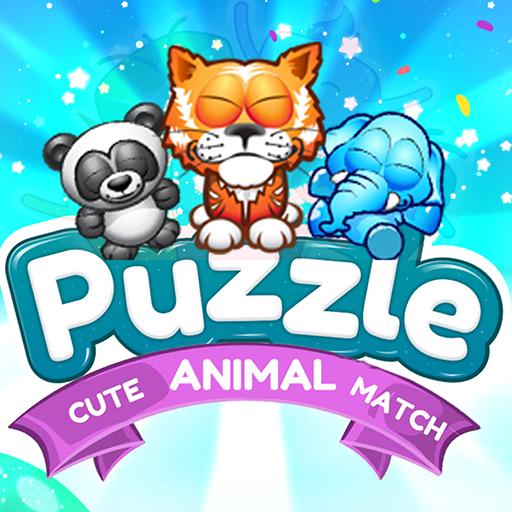 Baixar Cute puzzle Animal Match 2020 para Android