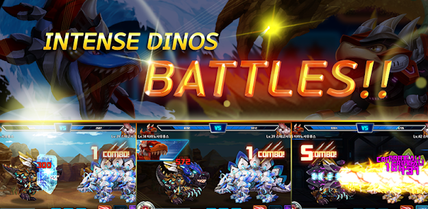 Dino War Stego VS Iron T-Rex Hack for iOS and Android 3