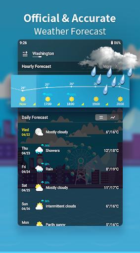 Weather Forecast - Live Weather Alert & Widget 1.13 Screenshots 8