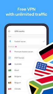 Aloha Browser Turbo - private browser + free VPN 3.9.1 Screenshots 2
