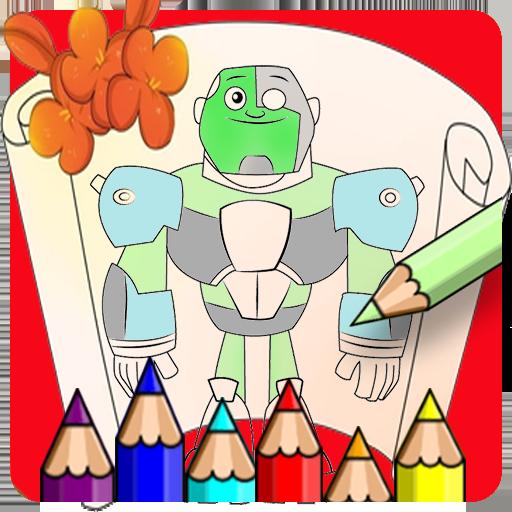 Baixar Teen Ten Coloring Titans Go para Android