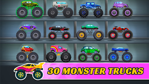 Monster Trucks: Racing Game for Kids Fun  screenshots 2