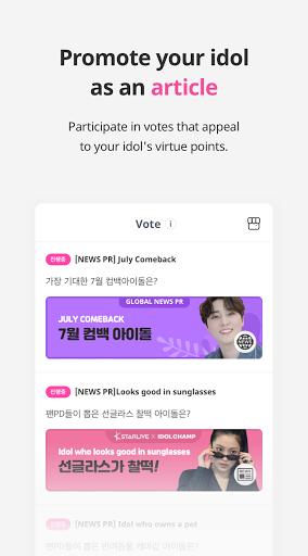 IDOLCHAMP - Showchampion, Fandom, K-pop, Idol android2mod screenshots 5