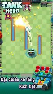 Xe tăng – Cuộc chiến bắt đầu Ver 1.7.6 MOD APK   God Mode – Tank Hero – Fun and addicting game 5