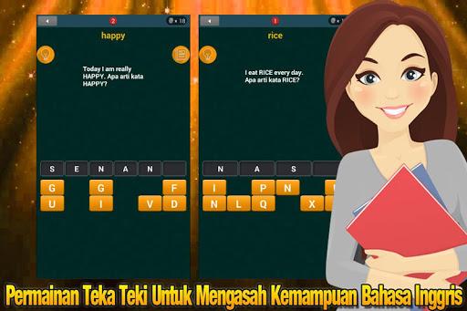 Teka Teki Bahasa Inggris apkpoly screenshots 4