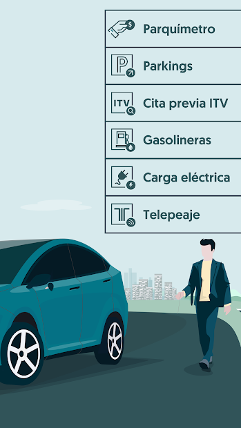 Captura 3 de ElParking - Parquímetro, parkings, telepeaje y más para android