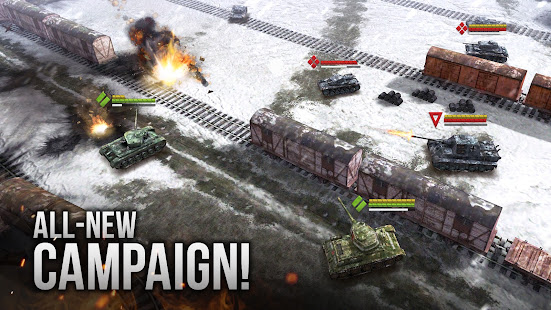 Armor Age: Tank Gamesud83dudca5 RTS War Machines Battle screenshots 1