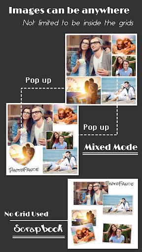 Collage Maker (Layout Grid) - PhotoFancie  screenshots 3