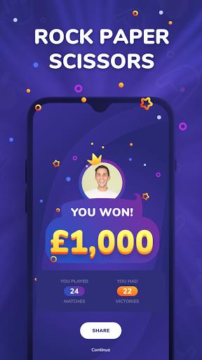 roshambo live – free prizes screenshot 1