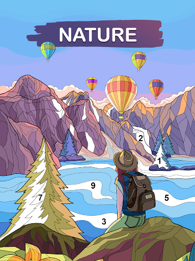 Art Games : Color by number 1.0.0 screenshots 12
