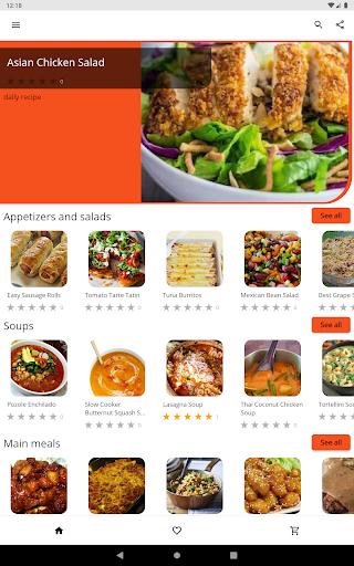Recipes for Dinner 5.07 Screenshots 7